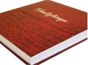 vendégkönyv könykvötés