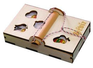gravírozott doboz Hévíz ajándék