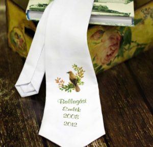 ballagó nyakkendő digitális nyomtatással